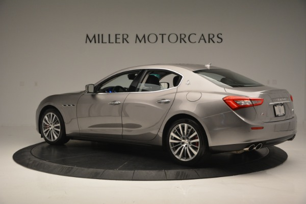 Used 2016 Maserati Ghibli S Q4  EX- LOANER for sale Sold at Rolls-Royce Motor Cars Greenwich in Greenwich CT 06830 4