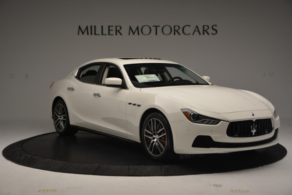 Used 2016 Maserati Ghibli S Q4  EX-LOANER for sale Sold at Rolls-Royce Motor Cars Greenwich in Greenwich CT 06830 11