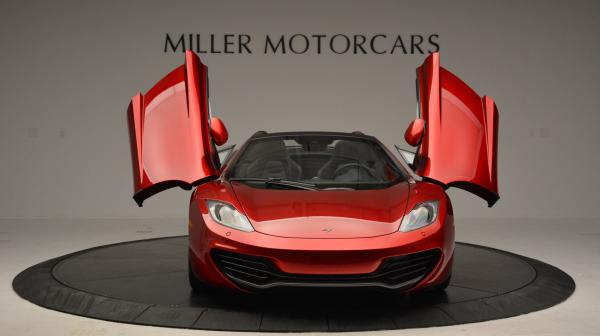 Used 2013 McLaren 12C Spider for sale Sold at Rolls-Royce Motor Cars Greenwich in Greenwich CT 06830 13