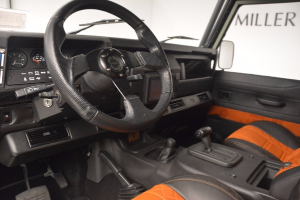 Used 1997 Land Rover Defender 90 for sale Sold at Rolls-Royce Motor Cars Greenwich in Greenwich CT 06830 13