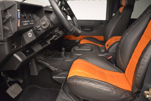 Used 1997 Land Rover Defender 90 for sale Sold at Rolls-Royce Motor Cars Greenwich in Greenwich CT 06830 14