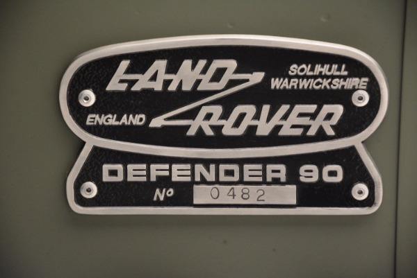 Used 1997 Land Rover Defender 90 for sale Sold at Rolls-Royce Motor Cars Greenwich in Greenwich CT 06830 25