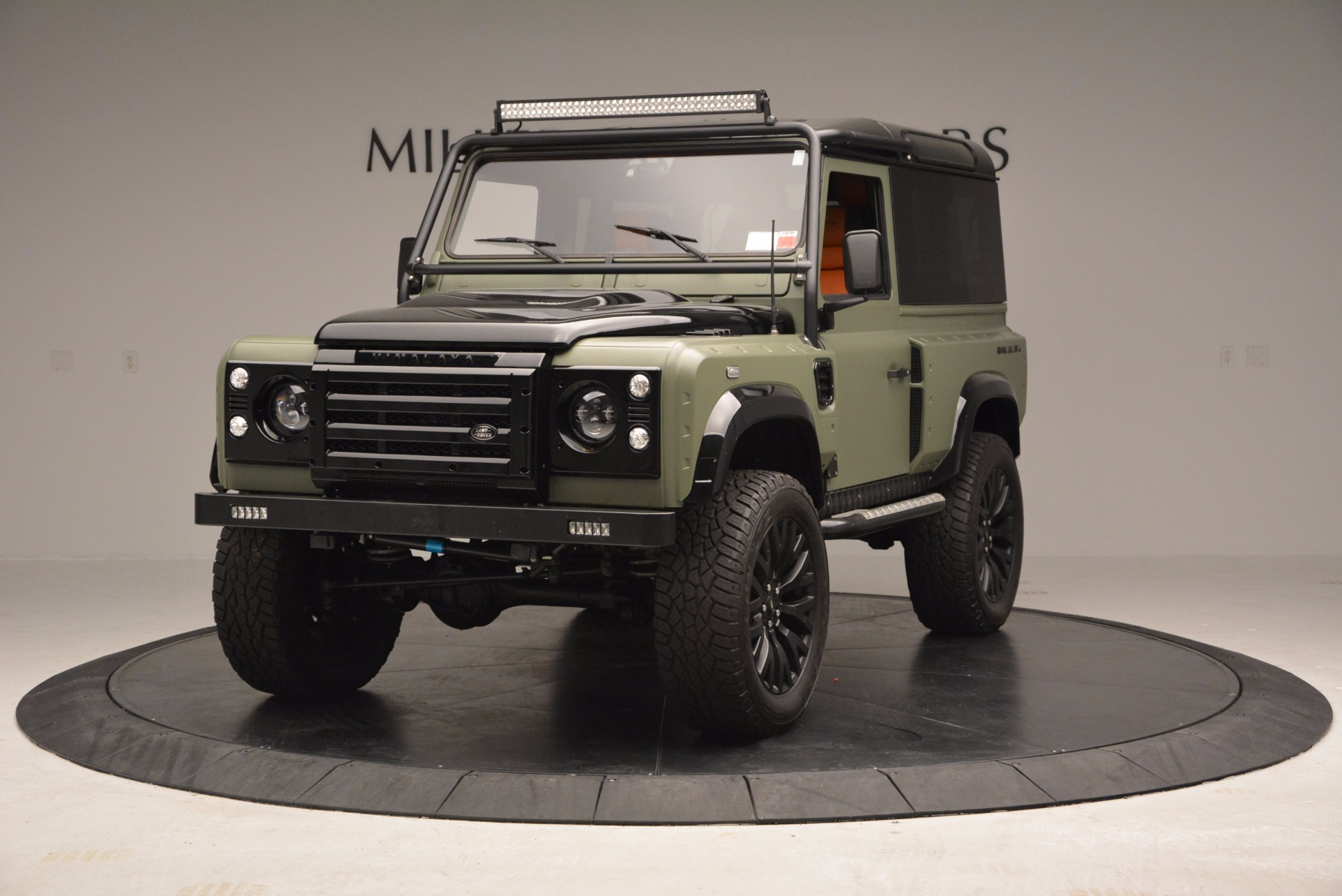 Used 1997 Land Rover Defender 90 for sale Sold at Rolls-Royce Motor Cars Greenwich in Greenwich CT 06830 1