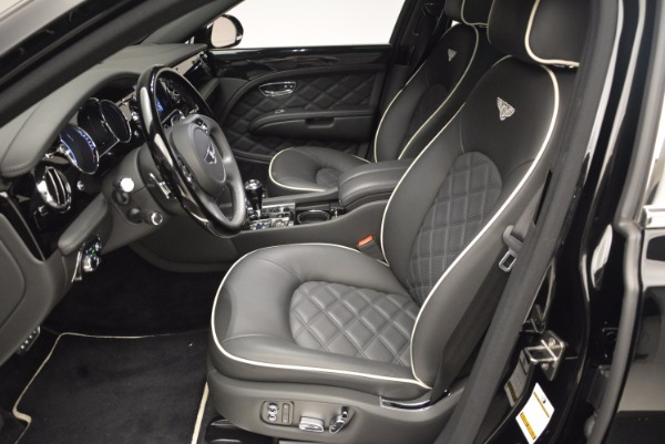 Used 2016 Bentley Mulsanne for sale Sold at Rolls-Royce Motor Cars Greenwich in Greenwich CT 06830 24