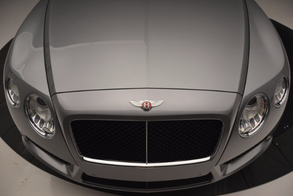 Used 2014 Bentley Continental GT V8 for sale Sold at Rolls-Royce Motor Cars Greenwich in Greenwich CT 06830 13