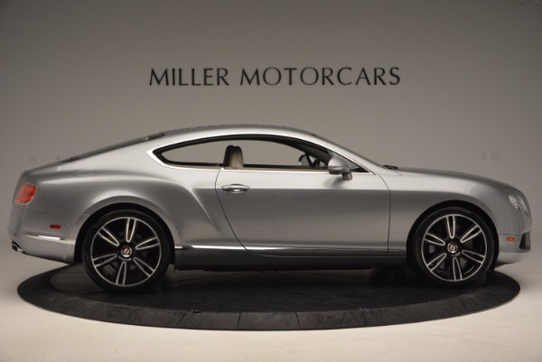 Used 2014 Bentley Continental GT V8 for sale Sold at Rolls-Royce Motor Cars Greenwich in Greenwich CT 06830 9