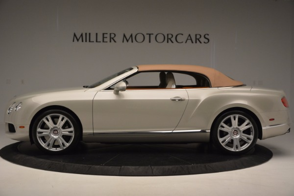 Used 2013 Bentley Continental GTC V8 for sale Sold at Rolls-Royce Motor Cars Greenwich in Greenwich CT 06830 16