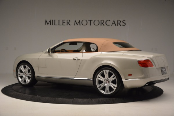 Used 2013 Bentley Continental GTC V8 for sale Sold at Rolls-Royce Motor Cars Greenwich in Greenwich CT 06830 17