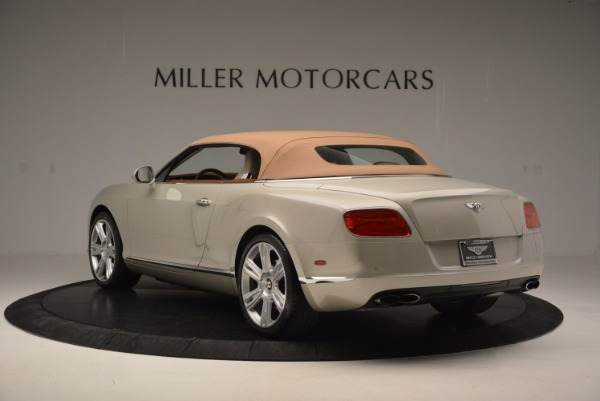 Used 2013 Bentley Continental GTC V8 for sale Sold at Rolls-Royce Motor Cars Greenwich in Greenwich CT 06830 18