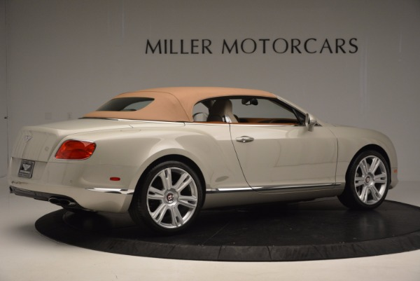 Used 2013 Bentley Continental GTC V8 for sale Sold at Rolls-Royce Motor Cars Greenwich in Greenwich CT 06830 21