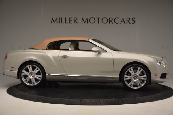 Used 2013 Bentley Continental GTC V8 for sale Sold at Rolls-Royce Motor Cars Greenwich in Greenwich CT 06830 22
