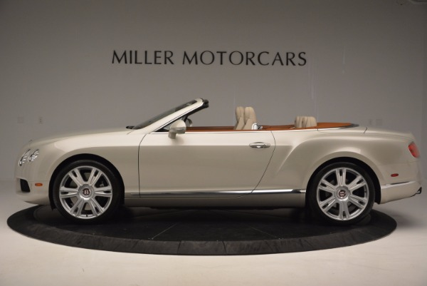 Used 2013 Bentley Continental GTC V8 for sale Sold at Rolls-Royce Motor Cars Greenwich in Greenwich CT 06830 3