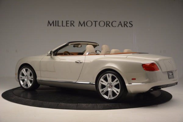 Used 2013 Bentley Continental GTC V8 for sale Sold at Rolls-Royce Motor Cars Greenwich in Greenwich CT 06830 4