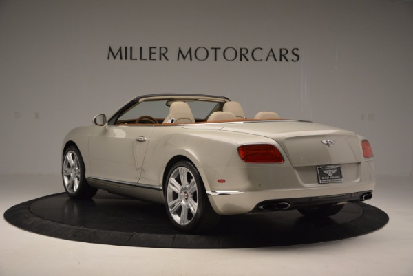 Used 2013 Bentley Continental GTC V8 for sale Sold at Rolls-Royce Motor Cars Greenwich in Greenwich CT 06830 5