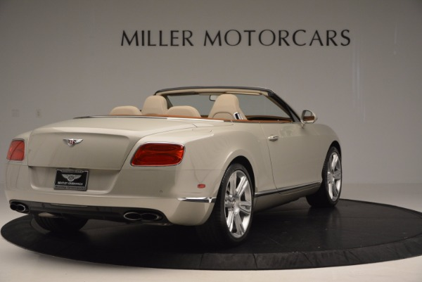 Used 2013 Bentley Continental GTC V8 for sale Sold at Rolls-Royce Motor Cars Greenwich in Greenwich CT 06830 7