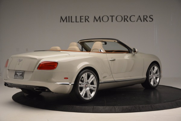 Used 2013 Bentley Continental GTC V8 for sale Sold at Rolls-Royce Motor Cars Greenwich in Greenwich CT 06830 8