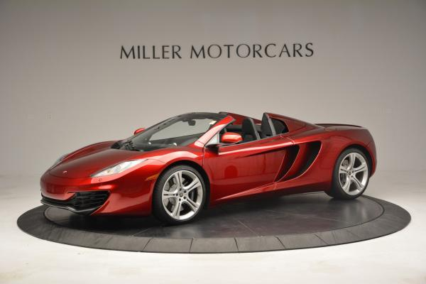 Used 2013 McLaren 12C Spider for sale Sold at Rolls-Royce Motor Cars Greenwich in Greenwich CT 06830 2
