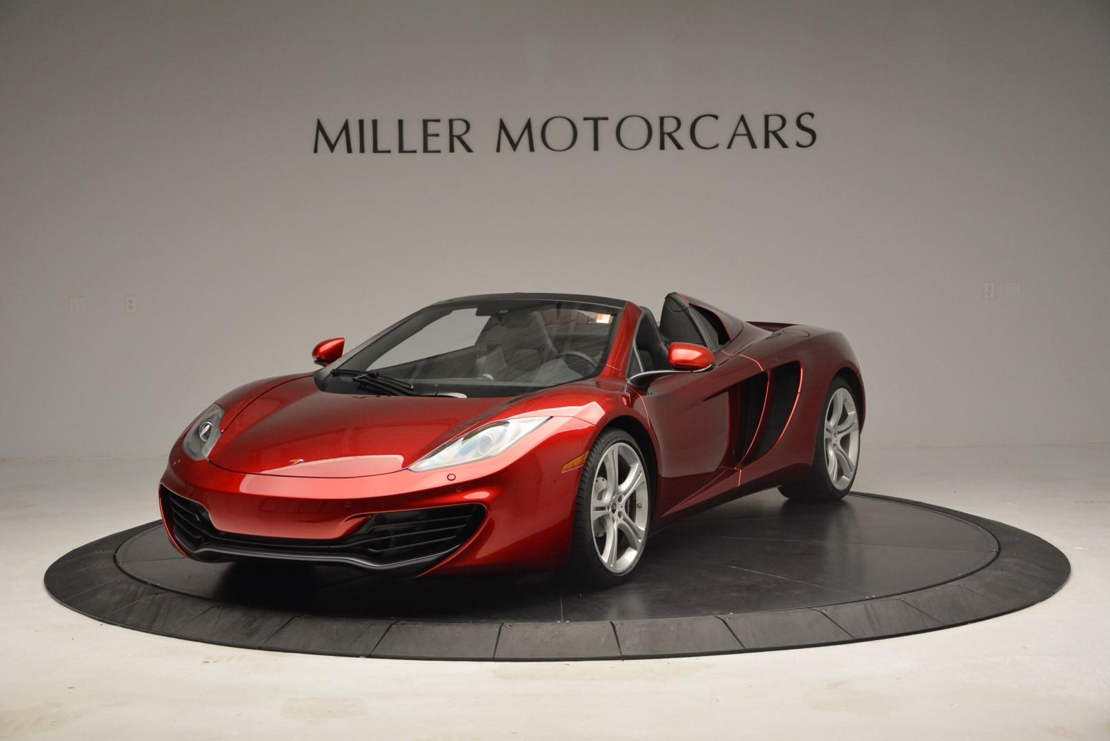 Used 2013 McLaren 12C Spider for sale Sold at Rolls-Royce Motor Cars Greenwich in Greenwich CT 06830 1
