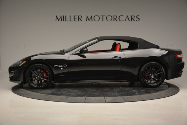 New 2017 Maserati GranTurismo Cab Sport for sale Sold at Rolls-Royce Motor Cars Greenwich in Greenwich CT 06830 6