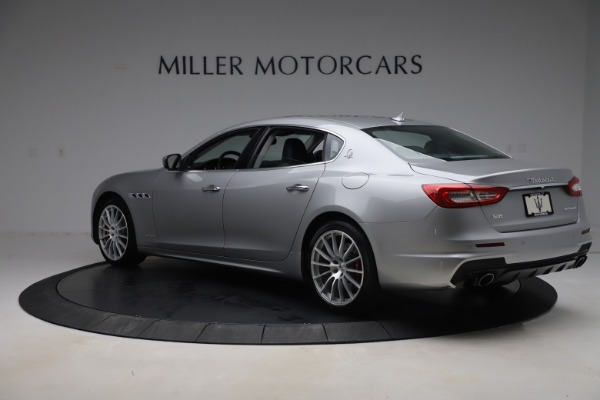 Used 2017 Maserati Quattroporte S Q4 GranSport for sale $59,900 at Rolls-Royce Motor Cars Greenwich in Greenwich CT 06830 4