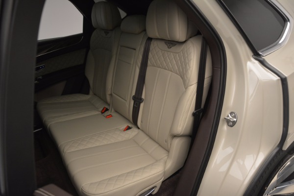 Used 2017 Bentley Bentayga for sale Sold at Rolls-Royce Motor Cars Greenwich in Greenwich CT 06830 27