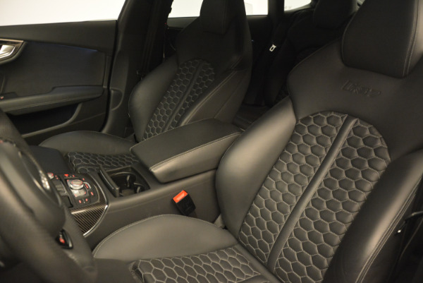 Used 2014 Audi RS 7 4.0T quattro Prestige for sale Sold at Rolls-Royce Motor Cars Greenwich in Greenwich CT 06830 16