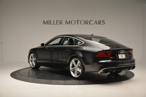 Used 2014 Audi RS 7 4.0T quattro Prestige for sale Sold at Rolls-Royce Motor Cars Greenwich in Greenwich CT 06830 5
