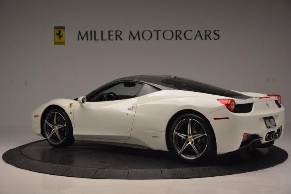 Used 2012 Ferrari 458 Italia for sale Sold at Rolls-Royce Motor Cars Greenwich in Greenwich CT 06830 4