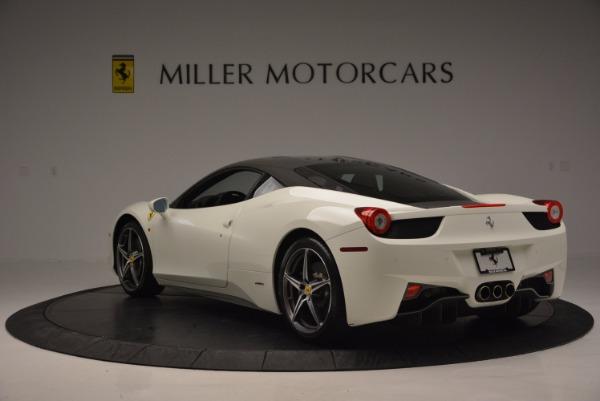 Used 2012 Ferrari 458 Italia for sale Sold at Rolls-Royce Motor Cars Greenwich in Greenwich CT 06830 5