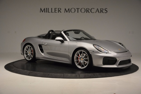 Used 2016 Porsche Boxster Spyder for sale Sold at Rolls-Royce Motor Cars Greenwich in Greenwich CT 06830 10