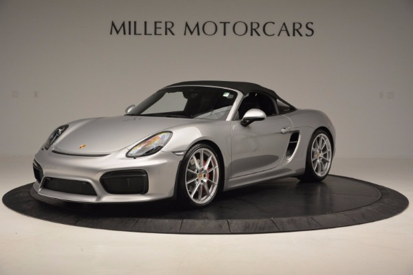 Used 2016 Porsche Boxster Spyder for sale Sold at Rolls-Royce Motor Cars Greenwich in Greenwich CT 06830 13