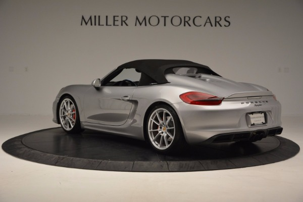 Used 2016 Porsche Boxster Spyder for sale Sold at Rolls-Royce Motor Cars Greenwich in Greenwich CT 06830 15