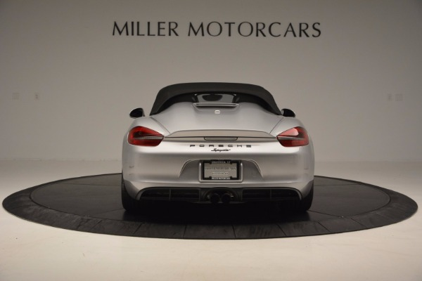 Used 2016 Porsche Boxster Spyder for sale Sold at Rolls-Royce Motor Cars Greenwich in Greenwich CT 06830 16