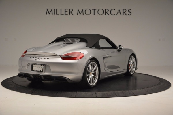 Used 2016 Porsche Boxster Spyder for sale Sold at Rolls-Royce Motor Cars Greenwich in Greenwich CT 06830 17