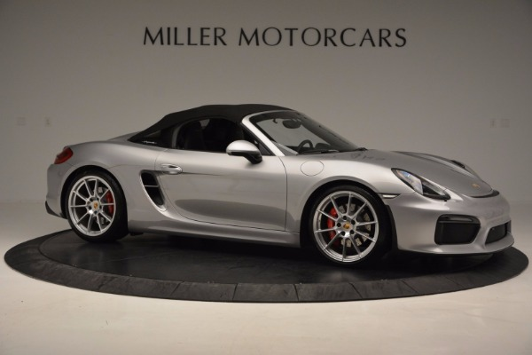 Used 2016 Porsche Boxster Spyder for sale Sold at Rolls-Royce Motor Cars Greenwich in Greenwich CT 06830 19