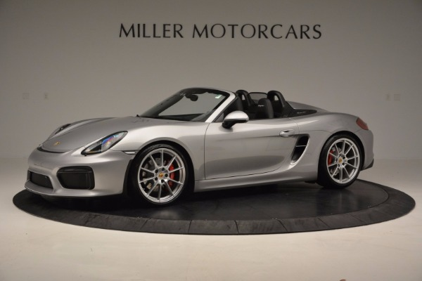 Used 2016 Porsche Boxster Spyder for sale Sold at Rolls-Royce Motor Cars Greenwich in Greenwich CT 06830 2