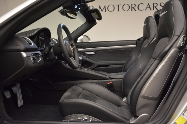 Used 2016 Porsche Boxster Spyder for sale Sold at Rolls-Royce Motor Cars Greenwich in Greenwich CT 06830 21