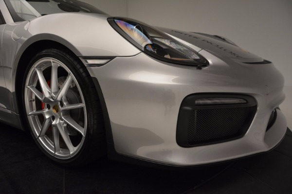 Used 2016 Porsche Boxster Spyder for sale Sold at Rolls-Royce Motor Cars Greenwich in Greenwich CT 06830 26