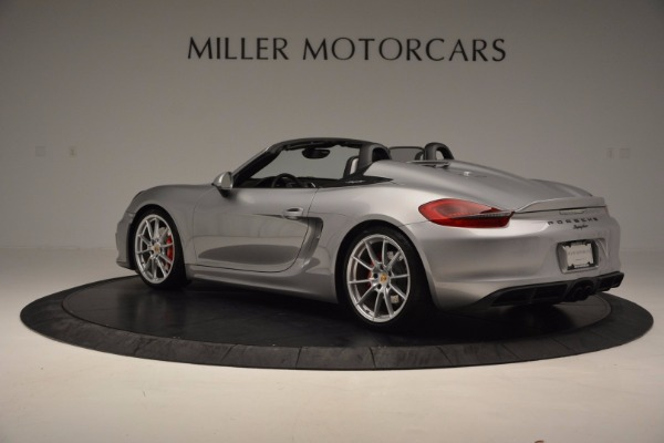 Used 2016 Porsche Boxster Spyder for sale Sold at Rolls-Royce Motor Cars Greenwich in Greenwich CT 06830 4
