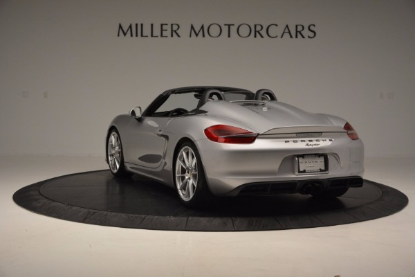 Used 2016 Porsche Boxster Spyder for sale Sold at Rolls-Royce Motor Cars Greenwich in Greenwich CT 06830 5
