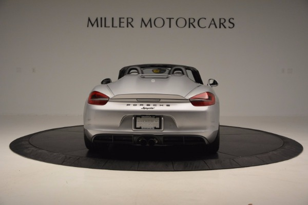 Used 2016 Porsche Boxster Spyder for sale Sold at Rolls-Royce Motor Cars Greenwich in Greenwich CT 06830 6