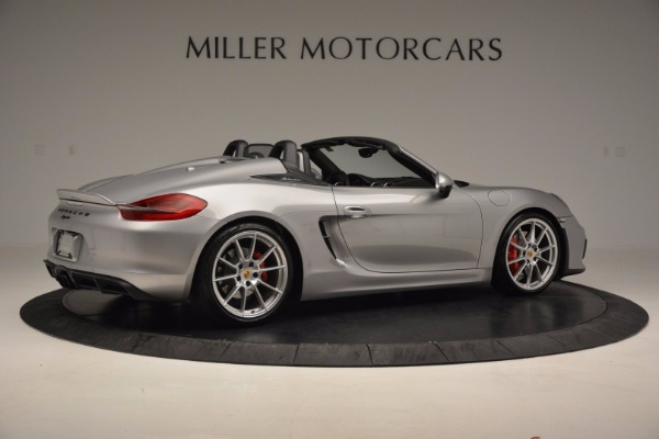 Used 2016 Porsche Boxster Spyder for sale Sold at Rolls-Royce Motor Cars Greenwich in Greenwich CT 06830 8