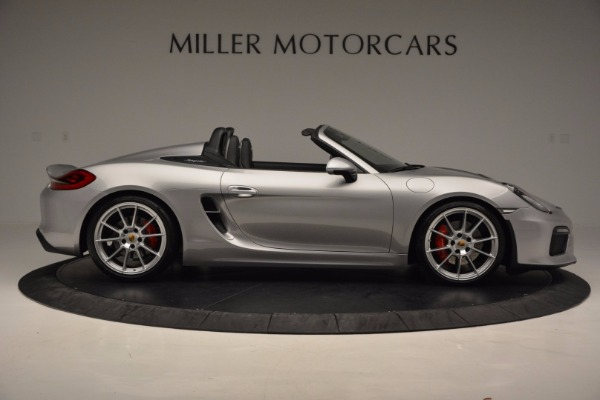 Used 2016 Porsche Boxster Spyder for sale Sold at Rolls-Royce Motor Cars Greenwich in Greenwich CT 06830 9