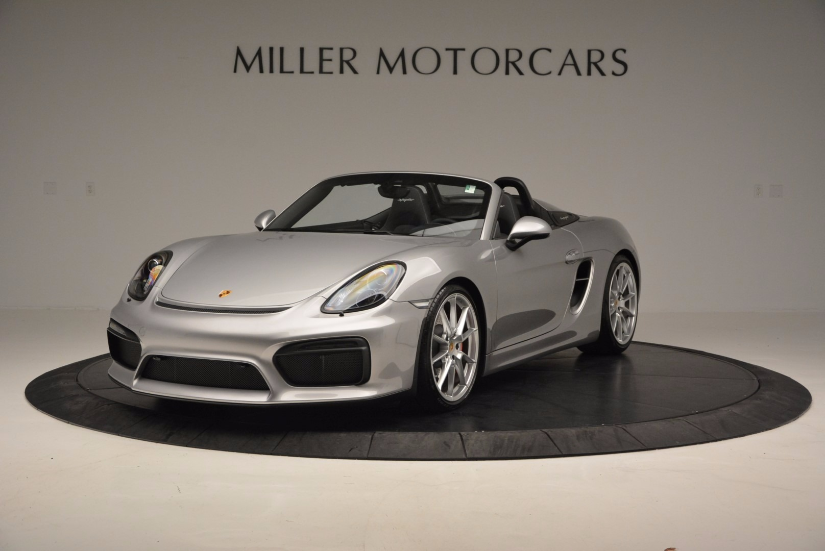 Used 2016 Porsche Boxster Spyder for sale Sold at Rolls-Royce Motor Cars Greenwich in Greenwich CT 06830 1