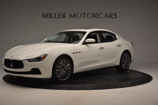 New 2017 Maserati Ghibli SQ4 for sale Sold at Rolls-Royce Motor Cars Greenwich in Greenwich CT 06830 2