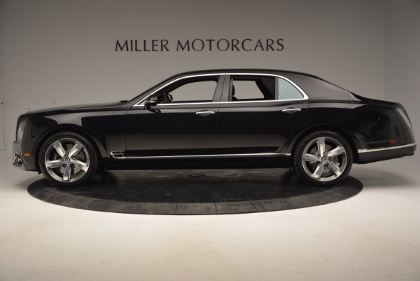 Used 2017 Bentley Mulsanne Speed for sale Sold at Rolls-Royce Motor Cars Greenwich in Greenwich CT 06830 3