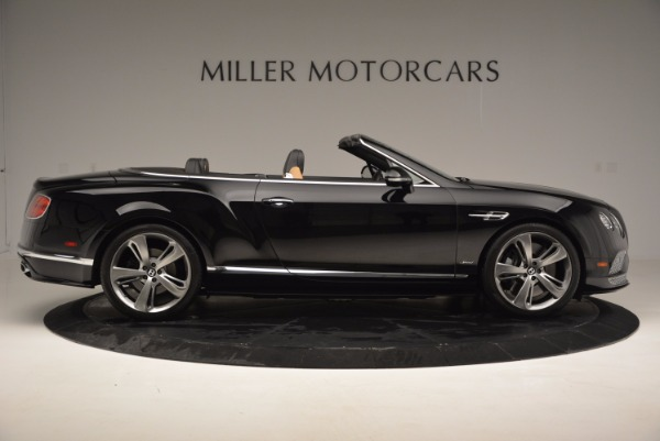 Used 2016 Bentley Continental GT Speed Convertible for sale Sold at Rolls-Royce Motor Cars Greenwich in Greenwich CT 06830 9