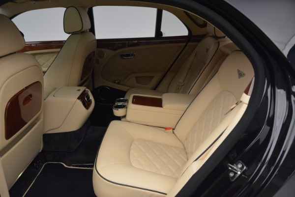 Used 2016 Bentley Mulsanne for sale Sold at Rolls-Royce Motor Cars Greenwich in Greenwich CT 06830 25