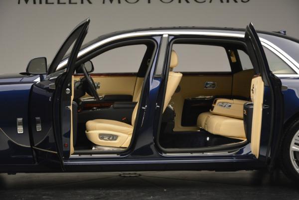 Used 2016 Rolls-Royce Ghost EWB for sale Sold at Rolls-Royce Motor Cars Greenwich in Greenwich CT 06830 16