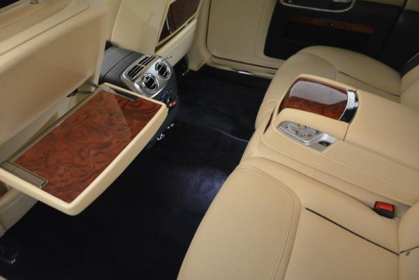 Used 2016 Rolls-Royce Ghost EWB for sale Sold at Rolls-Royce Motor Cars Greenwich in Greenwich CT 06830 28